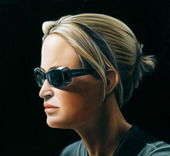 aa69db39de1 Girl with Sunglasses