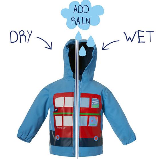 London bus colour change jacket