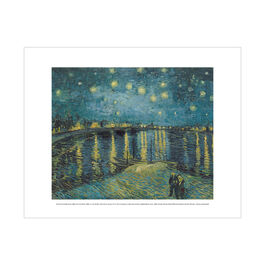 Vincent van Gogh: Starry Night over the Rhône mini print