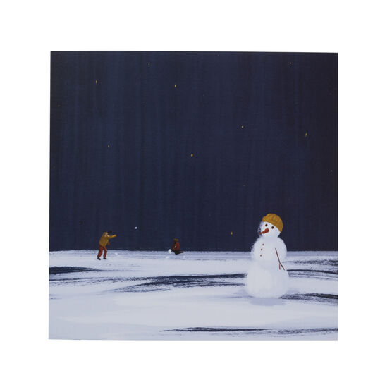 Tianna Barnes Snowball Fight Christmas cards (pack of 6)