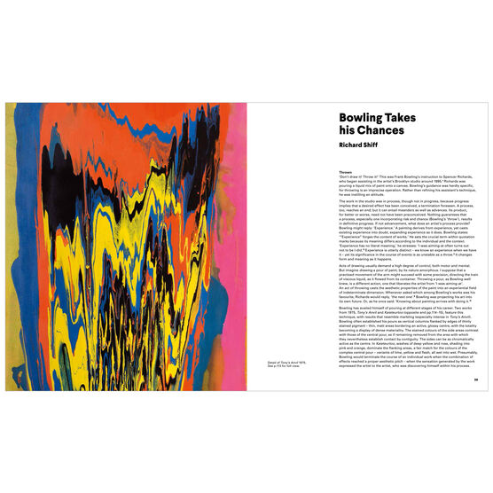 Frank Bowling exhibition book