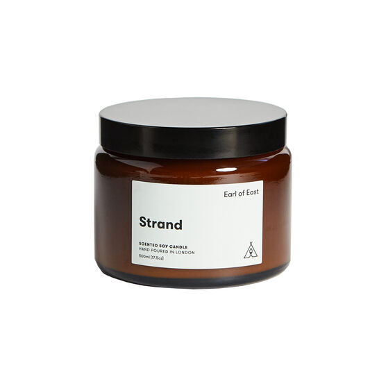 Strand large soy wax candle