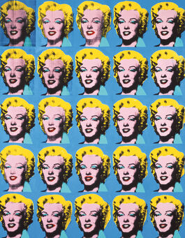 Andy Warhol: Twenty-Five Coloured Marilyns