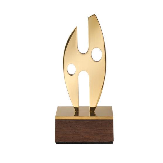 Wings brass object