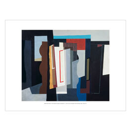 John Piper: Abstract I mini print