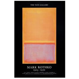 Rothko (Tate vintage poster reproduction)