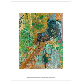 Pierre Bonnard: The Garden exhibition print