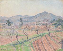 Lucien Pissarro: Almond Trees, Le Lavandou
