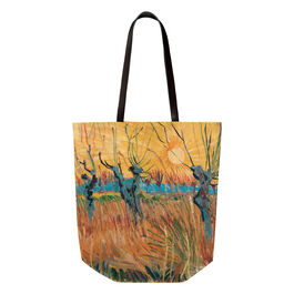 Van Gogh Pollarded Willows, Arles tote bag