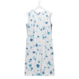 Lisa Milroy blue dots Summer Collection dress