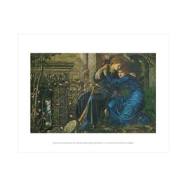 Edward Burne-Jones: Love among the Ruins mini print