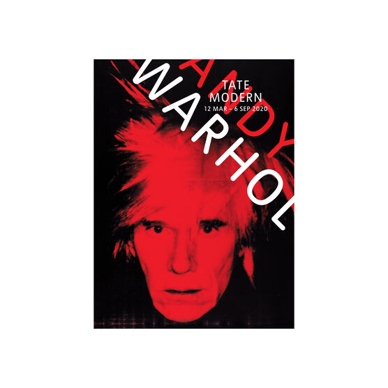 Andy Warhol 2020 exhibition postcard book