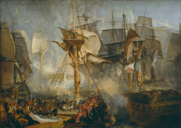 Turner: The Battle of Trafalgar
