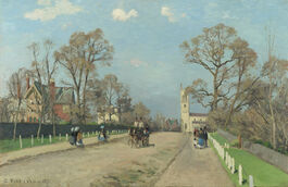 Pissarro: The Avenue, Sydenham