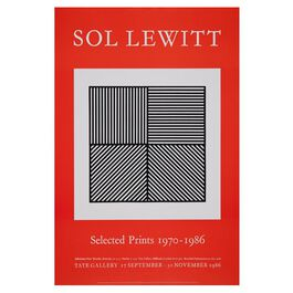 Sol Lewitt (Tate vintage poster reproduction)