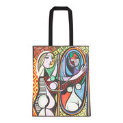 Picasso Girl Before a Mirror tote bag
