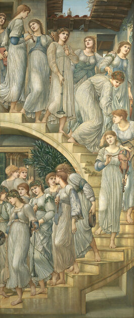 Edward Burne-Jones: The Golden Stairs