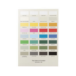 Colours of London notebook