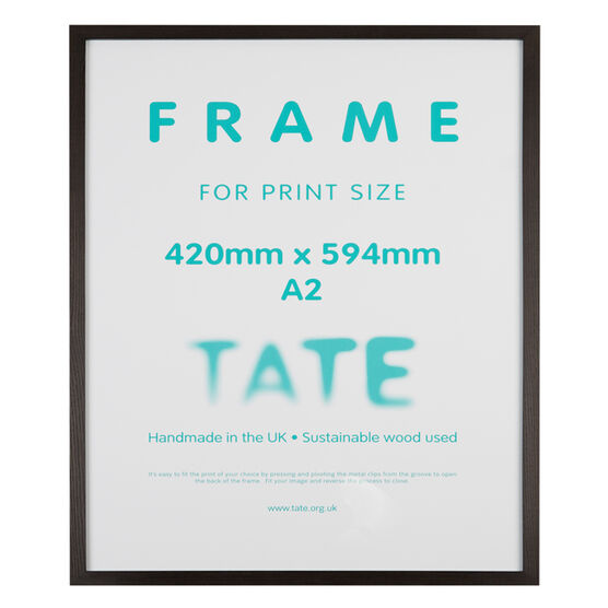 A2 Dark Ash Frame | Frames | Tate Shop | Tate