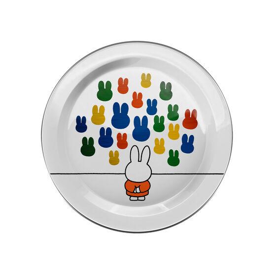 Miffy enamel plate