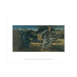 Edward Burne-Jones: Love and the Pilgrim mini print
