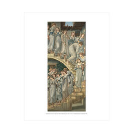 Edward Burne-Jones: The Golden Stairs mini print
