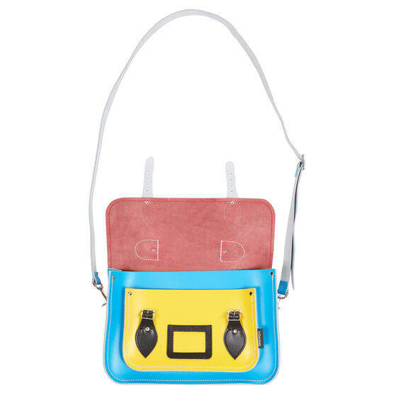 Kaleidoscope Pop Art satchel