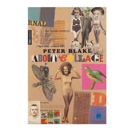 Peter Blake: About Collage, 2000-2001 original exhibition poster