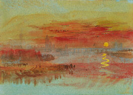 Turner: The Scarlet Sunset