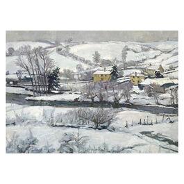John. A. Park: Snow Falls on Exmoor Christmas card (pack of 10)