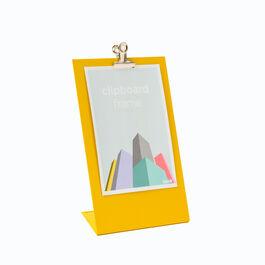 Yellow clipboard frame