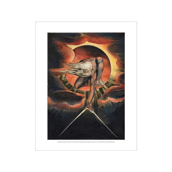 William Blake The Ancient of Days mini print