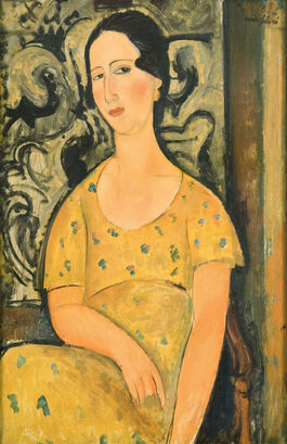 Modigliani: Woman with Yellow Dress