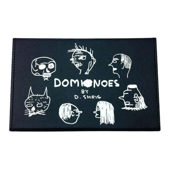 David Shrigley boxed domino set