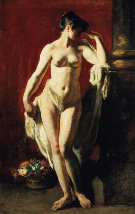 Etty: Standing Female Nude