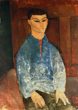 Modigliani: Moïse Kisling Seated