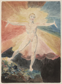 William Blake: Albion Rose