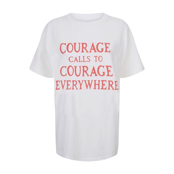 Courage Calls t-shirt