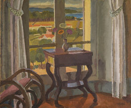 Vanessa Bell: Interior with a Table