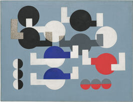 Sophie Taeuber-Arp: Composition of Circles and Overlapping Angles