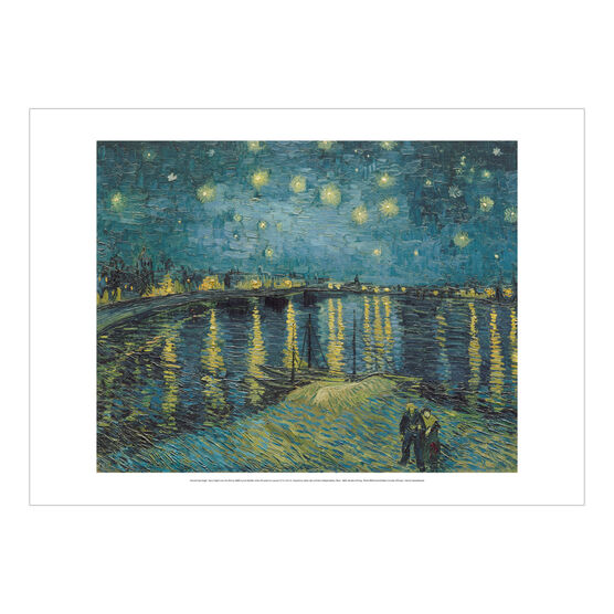 Vincent van Gogh: Starry Night over the Rhône poster