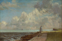 John Constable: Harwich Lighthouse
