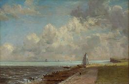 John Constable: Harwich Lighthouse