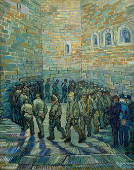 Vincent van Gogh: The Prison Courtyard
