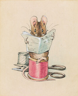 Helen Beatrix Potter: Frontispiece: The Tailor Mouse