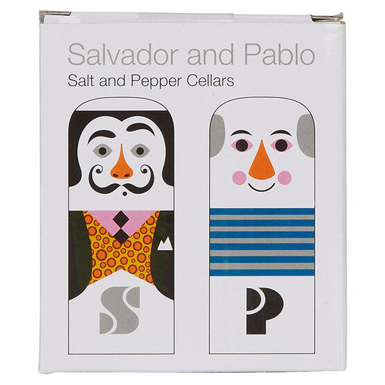Dalí & Picasso salt and pepper pots