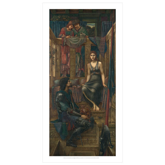 Edward Burne-Jones: King Cophetua and the Beggar Maid poster