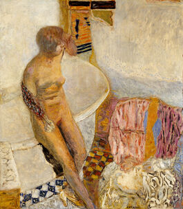 Pierre Bonnard: Nude at Her Bath