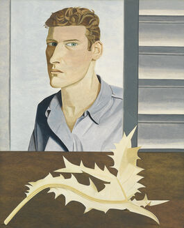 Lucian Freud: Man with a Thistle (Self-Portrait)