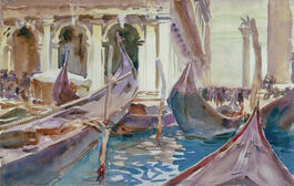 Sargent: The Piazetta, Venice
